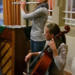 Britta Roscher mit ihrem Kammer-Ensemble